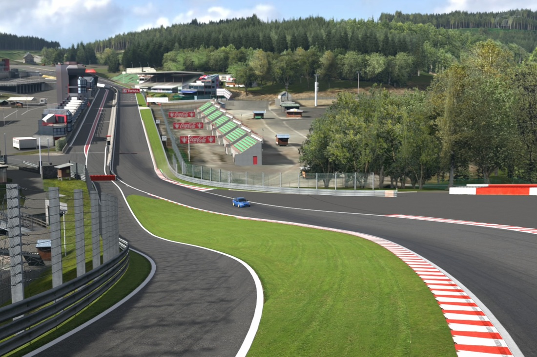 time attack in circuit de spa francorchamps practice s d c. Black Bedroom Furniture Sets. Home Design Ideas